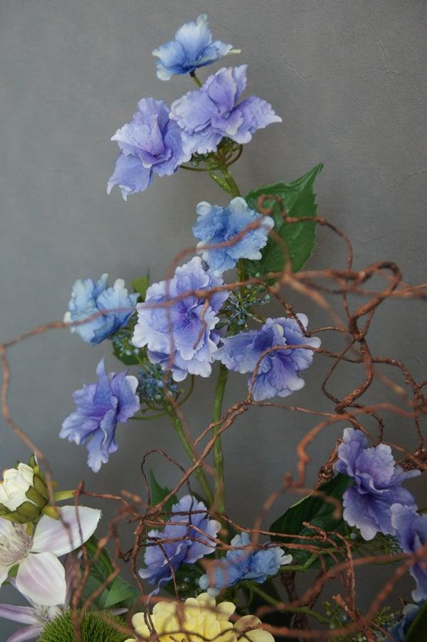 和室 飾る 造花 アートフラワー アジサイ アーティフィシャル