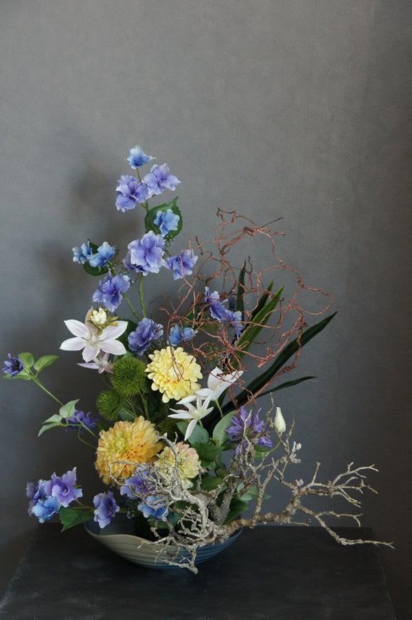 和風 造花 アートフラワー アジサイ アーティフィシャル