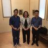 With the president of Japan House Sao Paulo 翻訳有りの画像