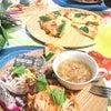 7月のレッスン→手作りピッツァとトマト風味の手打ちパスタなど…開催しました〜⤴︎の画像