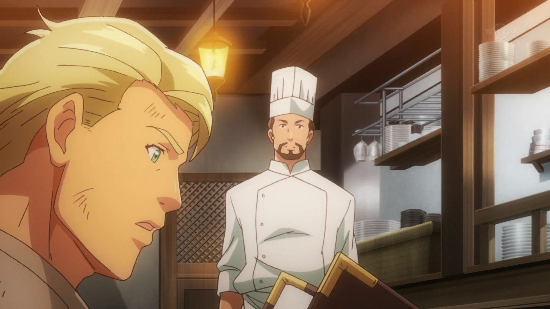 異世界食堂2話の感想『仲間を見殺しにした凶行が良い話風に描かれる』