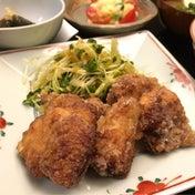7/12(水)「ソースチキン唐揚げ」スリコってスゴイ添え(時短簡単料理レシピ)