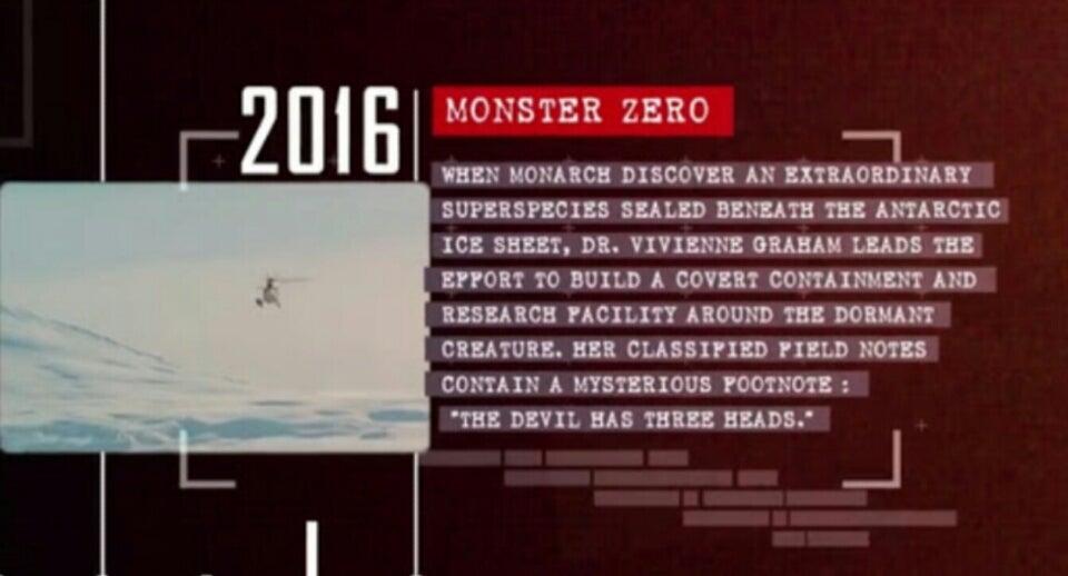 キングギドラ─南極に封印されし三つ首の悪魔!(「ゴジラ2」最新情報)