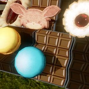 [AAUCC]板チョコレート(階段・箱・中型画布用)の画像