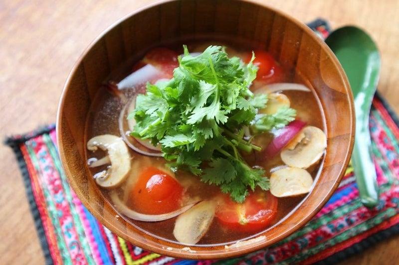 家にある食材で!簡単トムヤム味噌汁