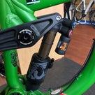 ちょっと古いダウンヒルバイクに、腰痛対策しました!の記事より