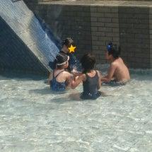 水遊びー!!