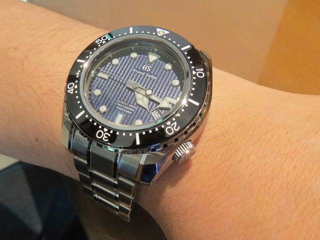 best service f12bf 15dbf グランドセイコー、新オーナー様。 | プリベ石川 時計ブログ