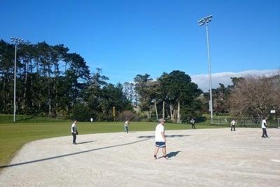 ソフトボール(ファーストピッチ) 試合風景