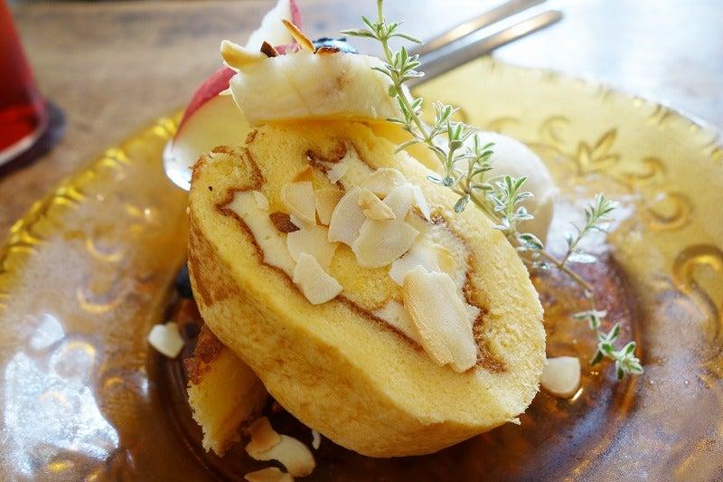 レモンクリームのミニロール 日和cafe 行田市