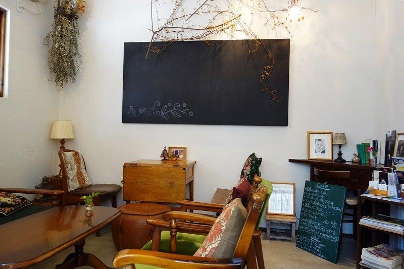 日和cafe(日和カフェ)の店内 2017.7.15