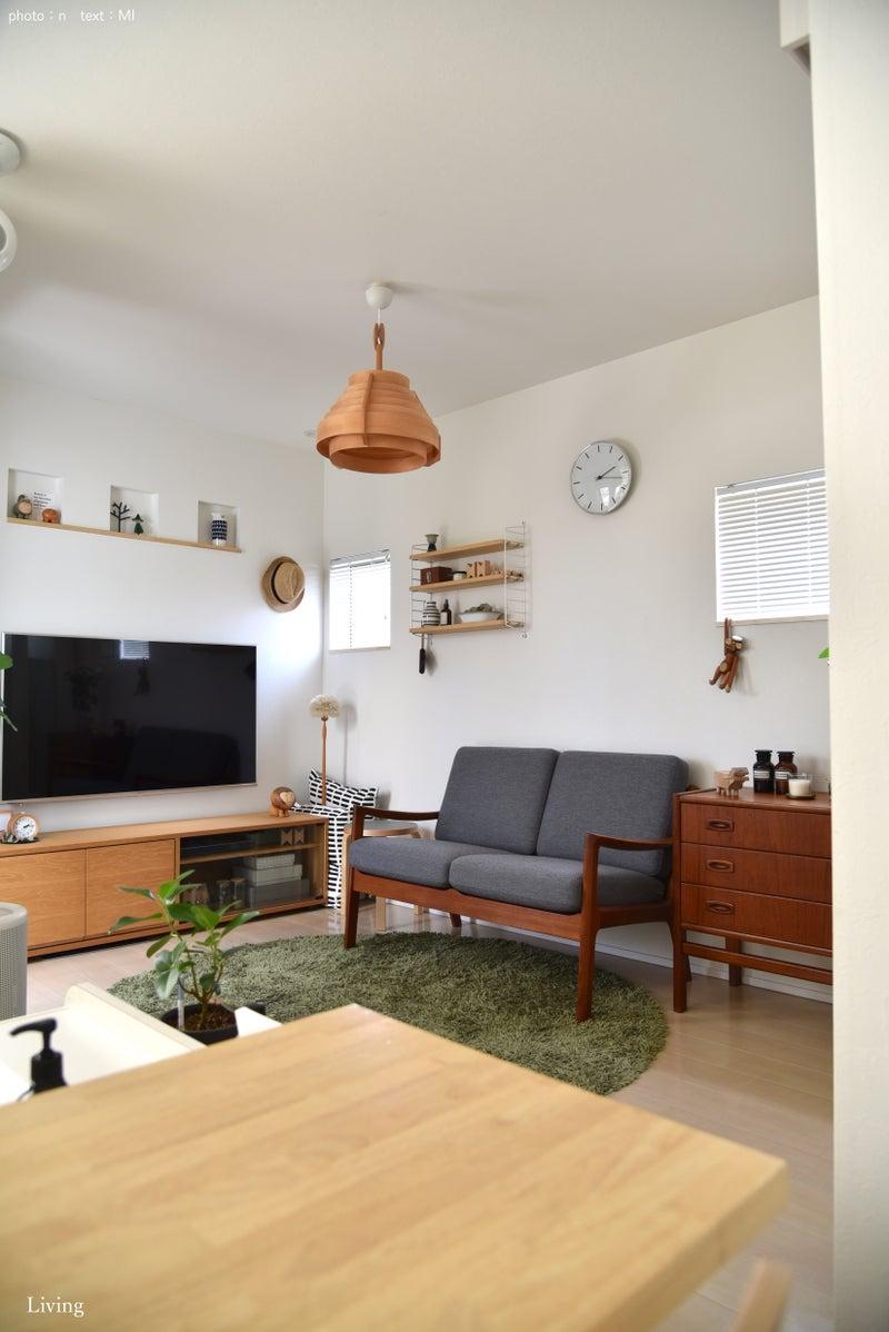 リビングに 北欧ヴィンテージ 家具 *   めがねとかもめと北欧暮らし