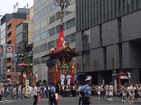 【ご案内】7月17日(水)前祭山鉾巡行 鉾を間近で見る旅〜あなたの知らない祇園祭〜の記事より