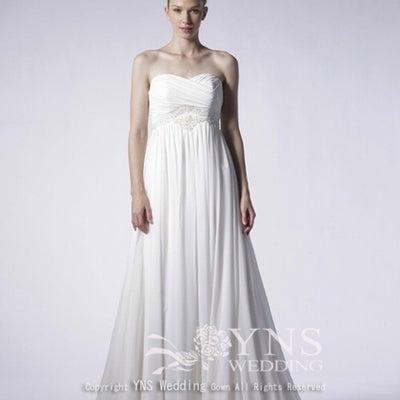 ドレス試着 その9 YNS Weddingの記事に添付されている画像