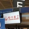 四川・花椒収穫ツアー旅行記①機内食編の画像