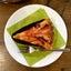 プラムのタルトとメロン杏仁のかき氷 菓子工房ルスルス