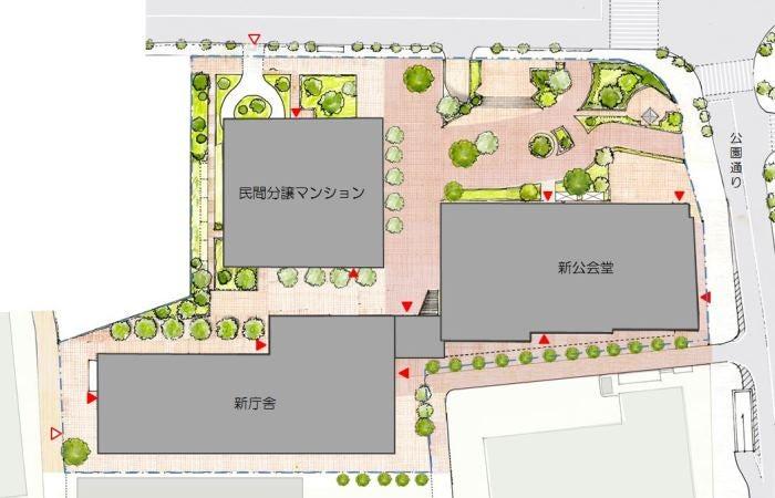 23区で進む庁舎建て替え。公民共存の問題点。