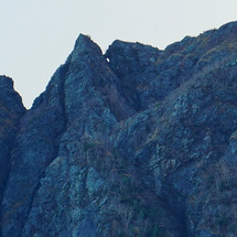 南アルプス・鋸岳・鹿…