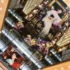 ■武井咲主演【黒革の手帖2017】|有楽町マリオンの巨大「黒革の手帖」ポスターと本物のかんざし。の画像