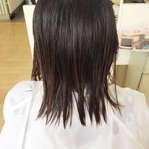 紫外線を浴びた髪の毛…