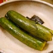 ★ うまきゅうのシソ白梅酢漬け