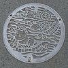 静岡県伊東市のマンホール…②の画像
