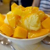 マンゴーかき氷も美味いがジュースも美味い! GOMAN MANGO(士林)