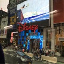 NYの ディズニース…