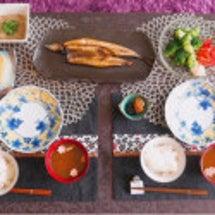 朝食は秋刀魚♡