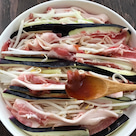 猛暑日の薬膳のプロの自宅メニュー  バテ気味な体に補気の一品を「茄子と豚肉の梅蒸し」の記事より