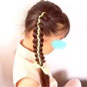 リボンを使った五つ編みツインテール♡【動画あり】