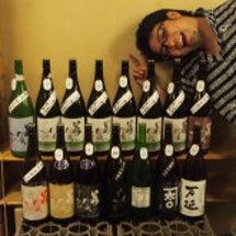 蔵元さんと共に日本酒…