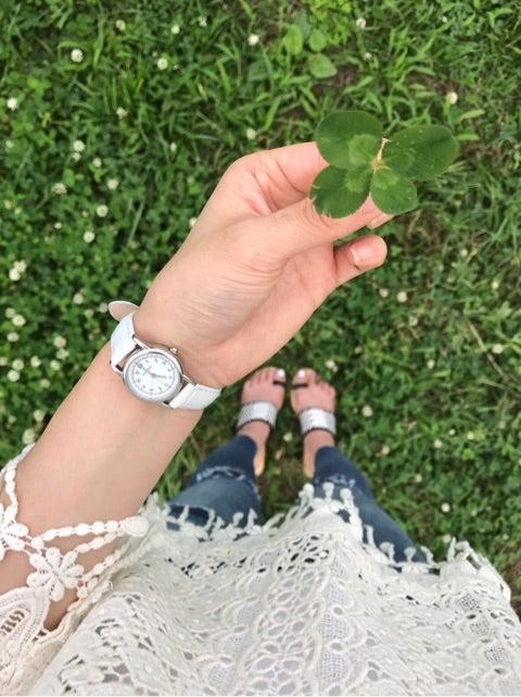 夏 × 時計 → おでかけ♪