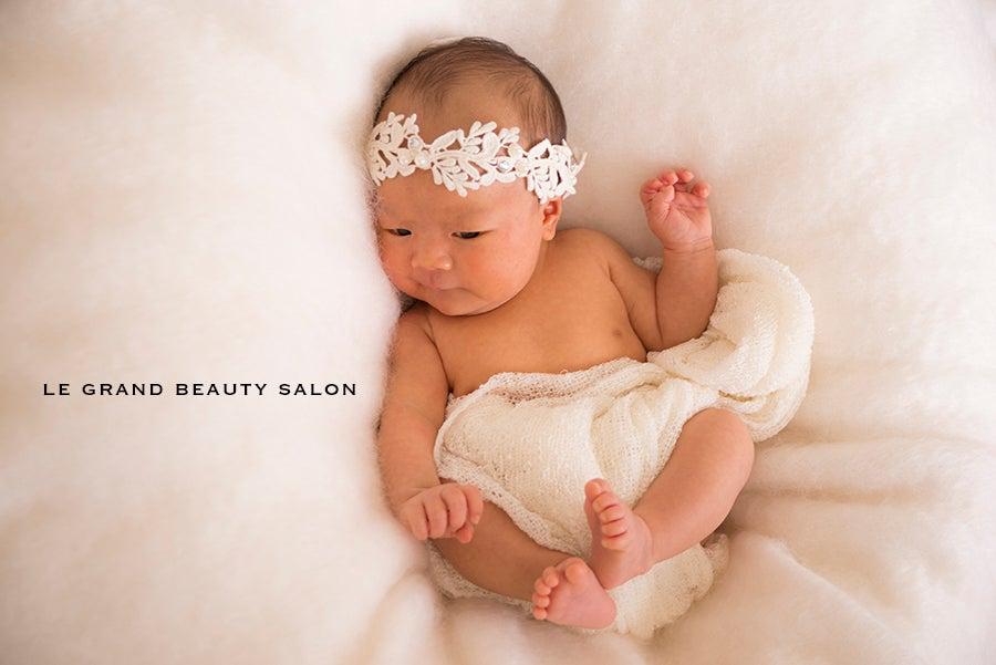 生後約1ヶ月の赤ちゃんにお越し頂きました!