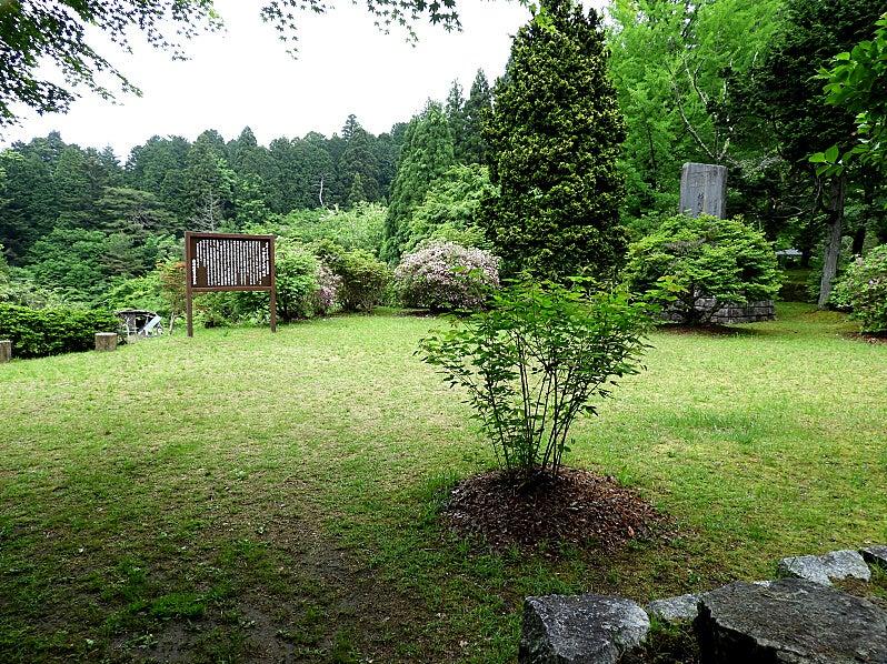 みどりの木のブログ岩村城の紹介2 土岐門まで