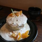 白いホットケーキ 食べてきました 24/7 coffee&roaster shibuya
