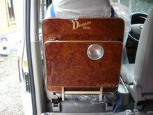 軽キャンパー ドリームミニ オプション 助手席テーブル 装着