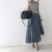 【coordinate】暑い夏に快適なふんわりマキシスカートコーデ