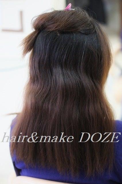 うねりの大きいクセ毛も縮毛矯正で。