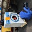 業務用洗濯機を納品