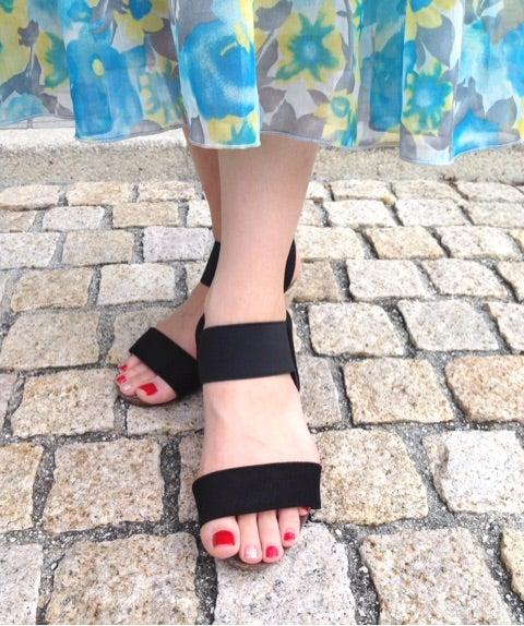 【プチプラ】子連れでも歩きやすく靴擦れしないウェッジソールサンダル【シューダル】