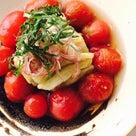 薬膳のプロの自宅メニュー 暑気払いにピッタリ「焼きなすとミニトマトの出汁漬け」の記事より