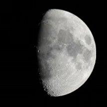 うお座上弦の月 ~古…