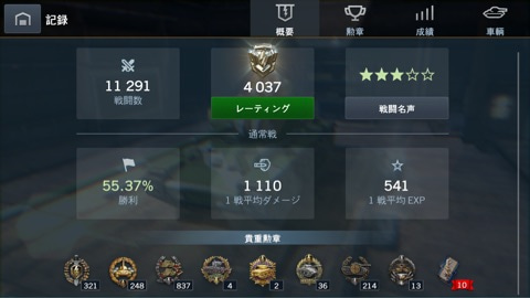 Wot Blitz Stats