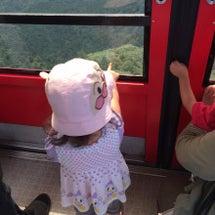 筑波山で乗り物乗車