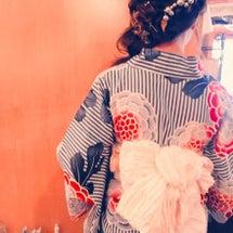 花火大会〜浴衣の着付…