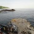 輪島の磯釣り~。