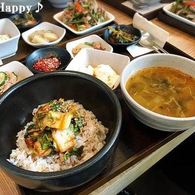 食客村・無名食堂で韓国定食ランチ~2017.3ソウル旅行3日目♪の記事に添付されている画像