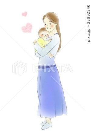 赤ちゃん 抱っこ イラスト