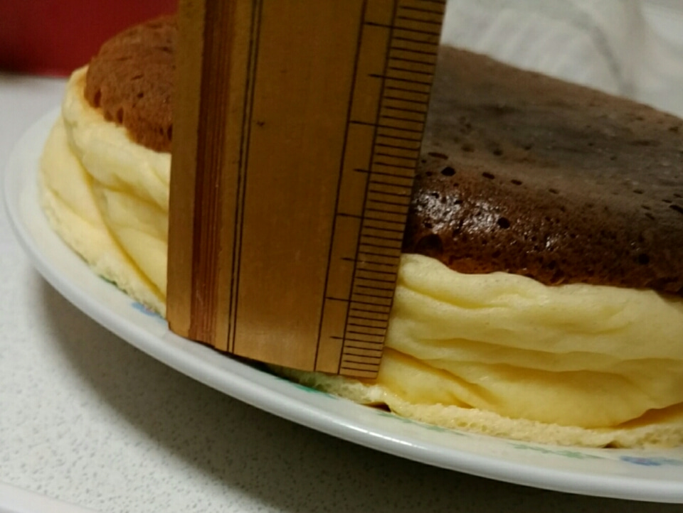 しぼむ ケーキ スフレ パン